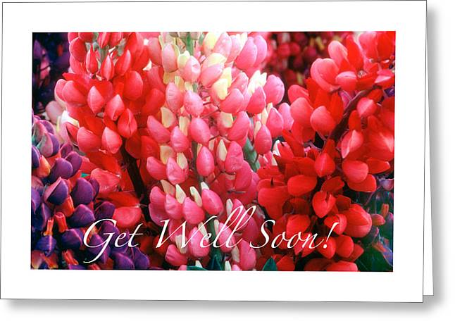 Get Well Soon Greeting Card by Harold E McCray