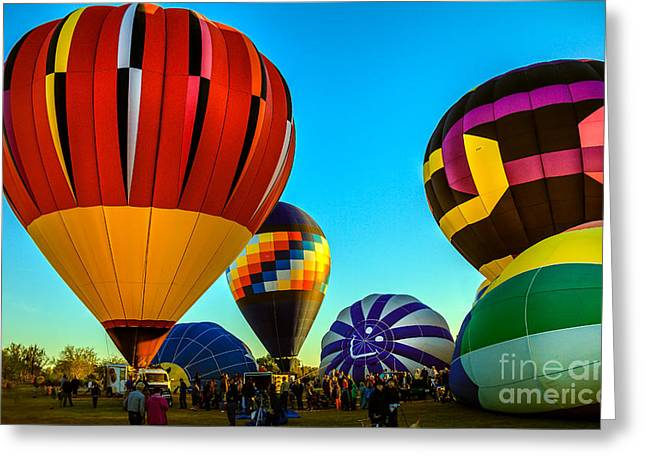 Getting Ready To Lift Off Greeting Card by Robert Bales