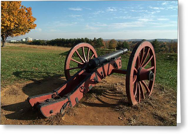 Gettysburg Cannon Greeting Card