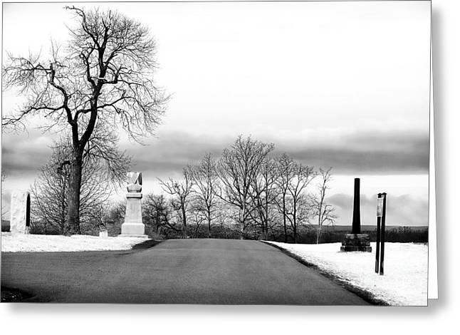 Gettysburg Choices Greeting Card by John Rizzuto