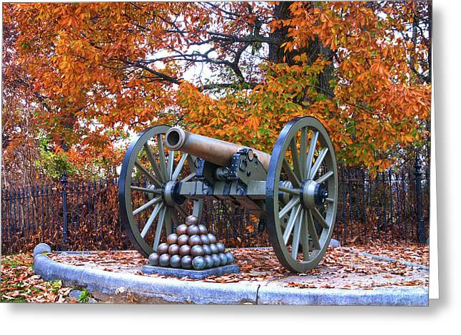 Gettysburg High Water Mark Greeting Card by Paul W Faust -  Impressions of Light