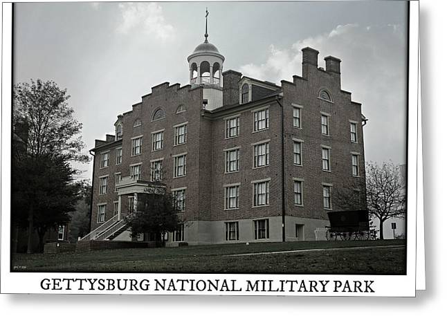 Gettysburg Seminary Ridge Poster Greeting Card by Stephen Stookey