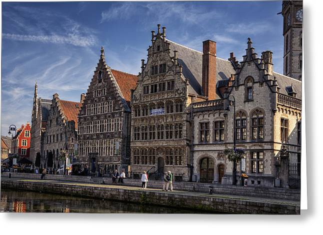 Ghent Guild Houses Greeting Card