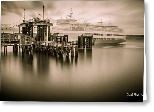 Ghost Ferry Greeting Card