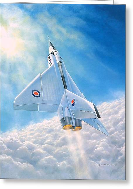 Ghost Flight Rl206 Greeting Card by Michael Swanson