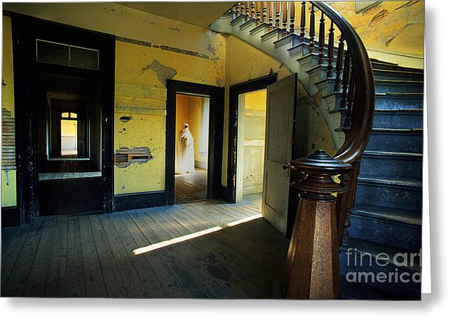 Meade Hotel Bannack Montana Greeting Card by Bob Christopher