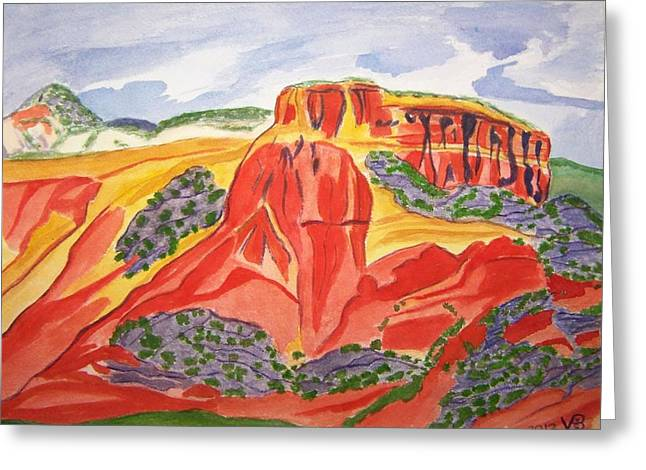 Ghost Ranch New Mexico Greeting Card