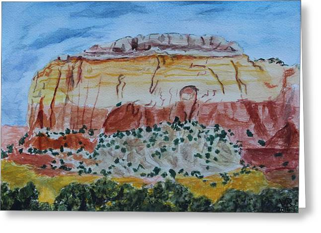 Ghost Ranch Greeting Card