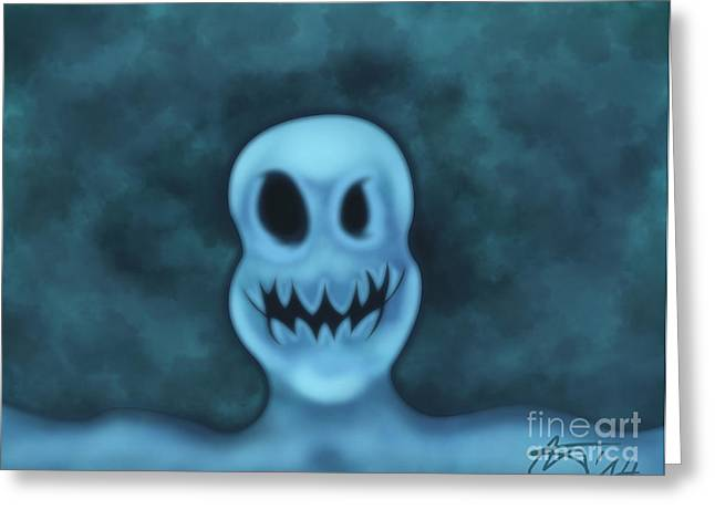 Ghost Selfie  Greeting Card