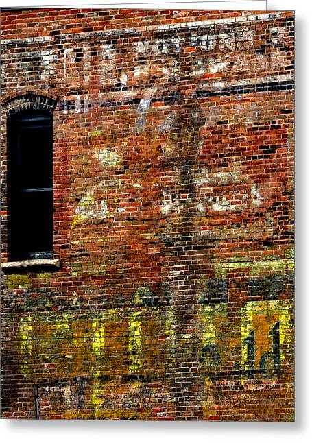 Ghost Sign 13469 3 Greeting Card by Jerry Sodorff