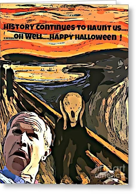 Ghosts Of The Past Greeting Card by John Malone