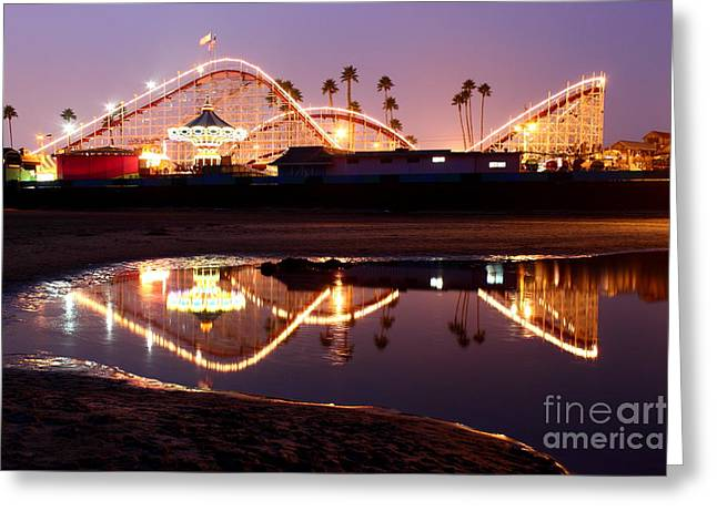 Giant Dipper At Dusk Greeting Card