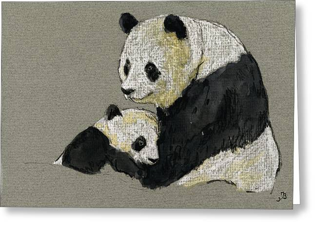 Giant Panda Greeting Card