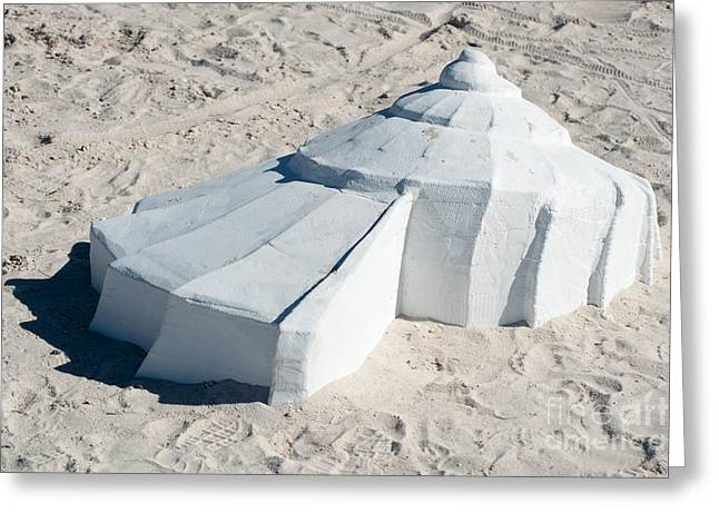 Giant Shell Sculpture 3  - Key West Greeting Card