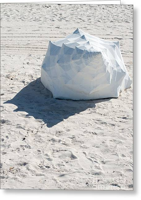 Giant Shell Sculpture 4  - Key West Greeting Card
