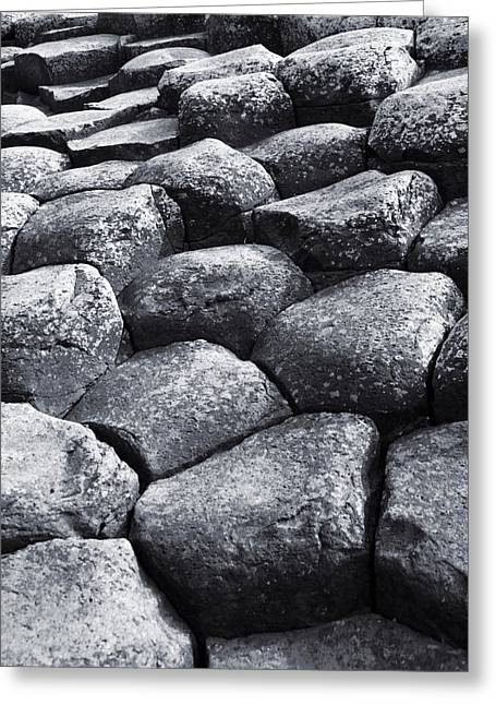 Greeting Card featuring the photograph Giant Steps by Jane McIlroy