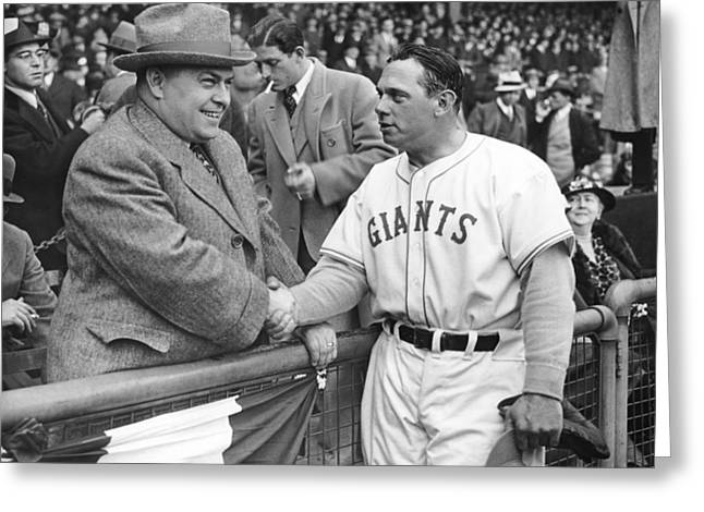 Giants Baseball Opening Day Greeting Card