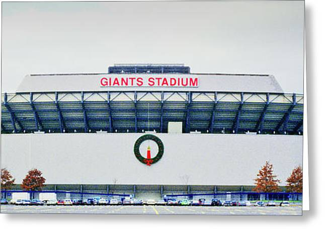 Giants Stadium In New Jersey Greeting Card