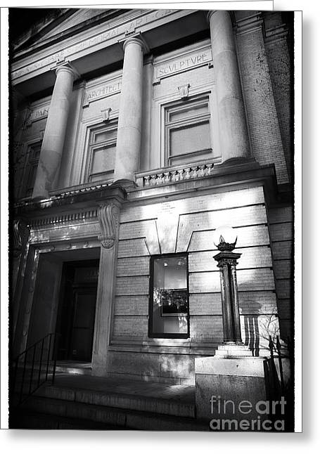 Gibbes Museum Of Art Greeting Card by John Rizzuto