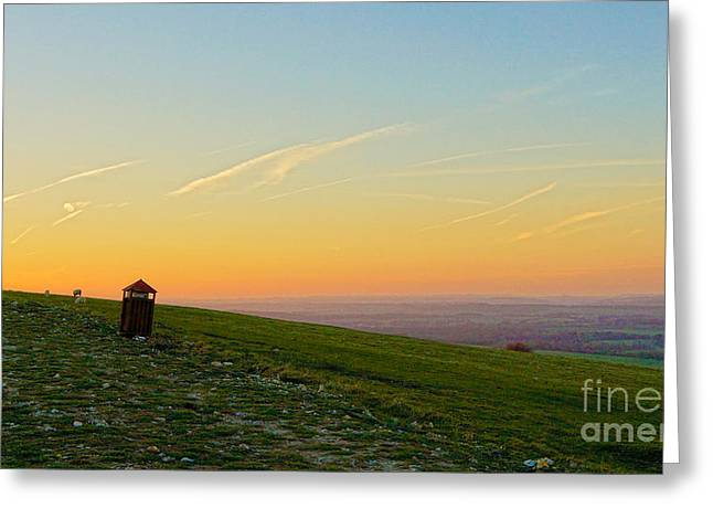Gibbet Landscape Greeting Card