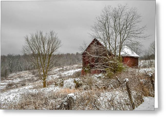 Gibisonville - Ohio Greeting Card by Brian Stevens