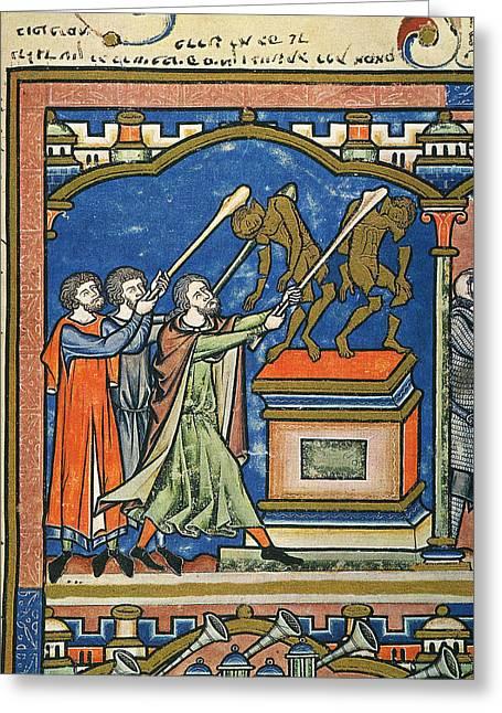 Gideon & Baal Altar Greeting Card by Granger