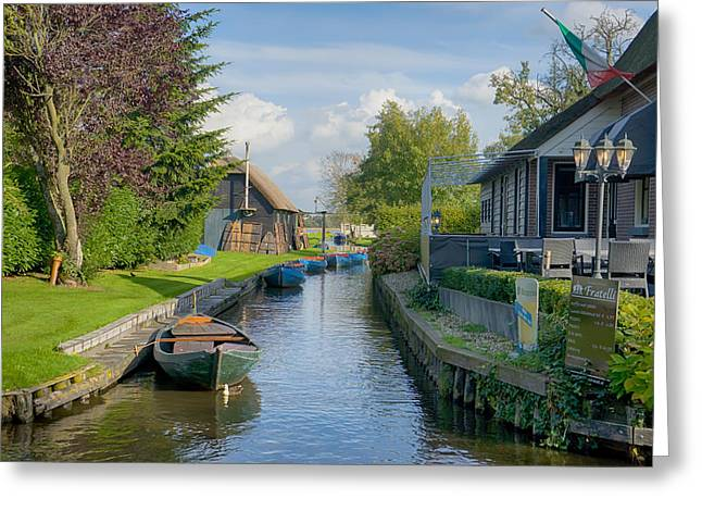 Giethoorn Greeting Card