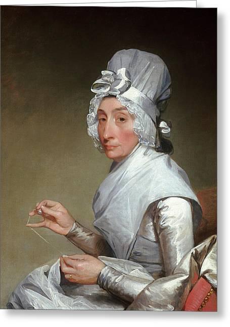 Gilbert Stuart, American 1755-1828 Greeting Card
