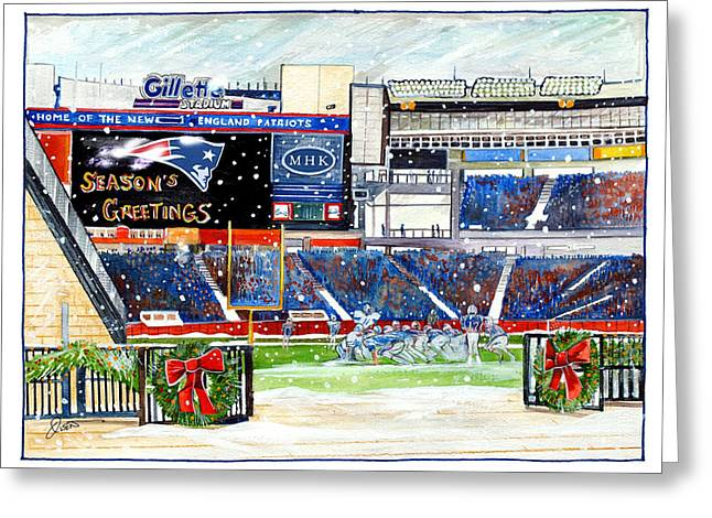 Gillette Holidays Greeting Card by Dave Olsen