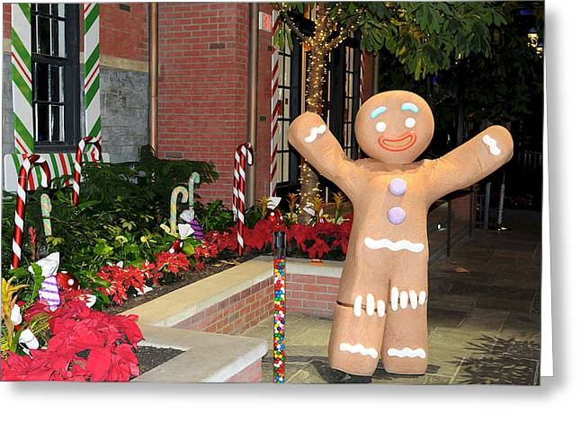 Ginger Bread Man Greeting Card