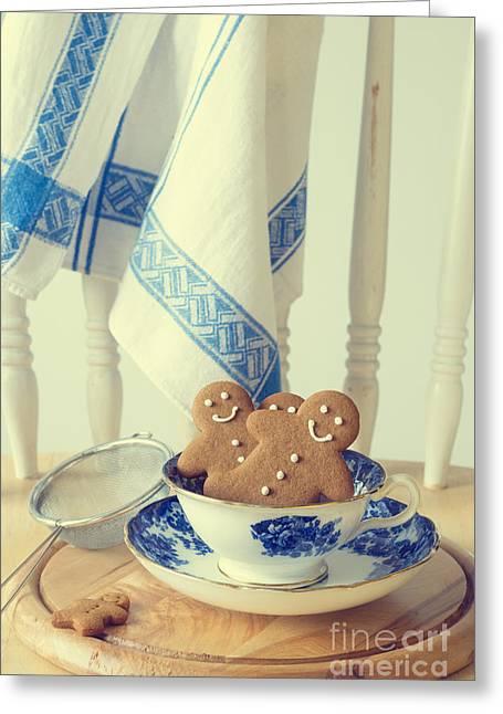 Gingerbread Greeting Card by Amanda Elwell