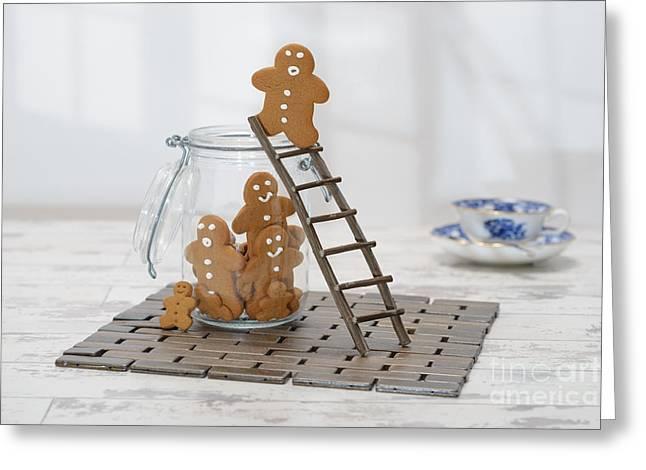 Gingerbread Ladder Greeting Card