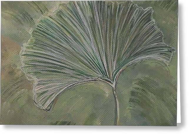 Ginko Leaf Greeting Card
