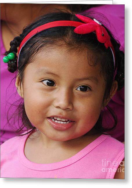 girl from Panama 2 Greeting Card