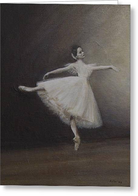 Giselle Greeting Card
