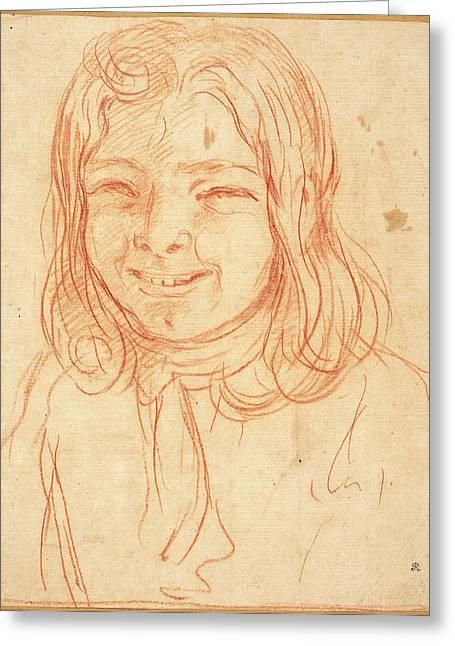 Giuseppe Maria Mitelli, Italian 1634-1718 Greeting Card
