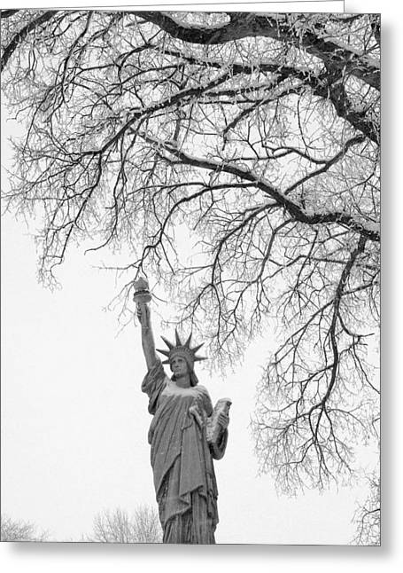 Give Me Liberty Greeting Card