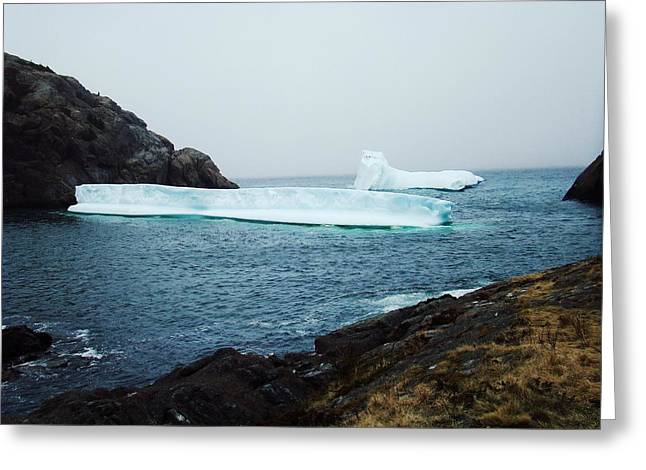 Glacial Beauty Greeting Card