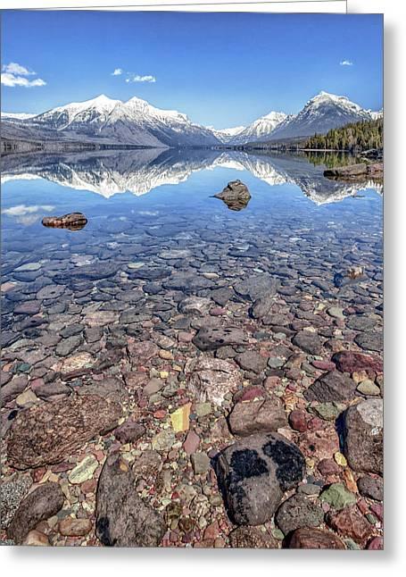 Glacial Lake Mcdonald Greeting Card