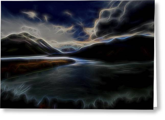 Glacial Light 1 Greeting Card by William Horden