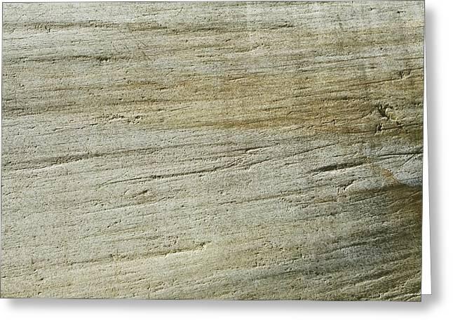 Glacially Eroded Granite Bedrock Greeting Card by Kaj R. Svensson