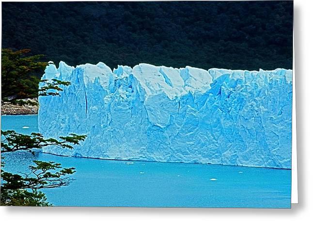 Glaciar Perito Moreno - Patagonia Greeting Card by Juergen Weiss
