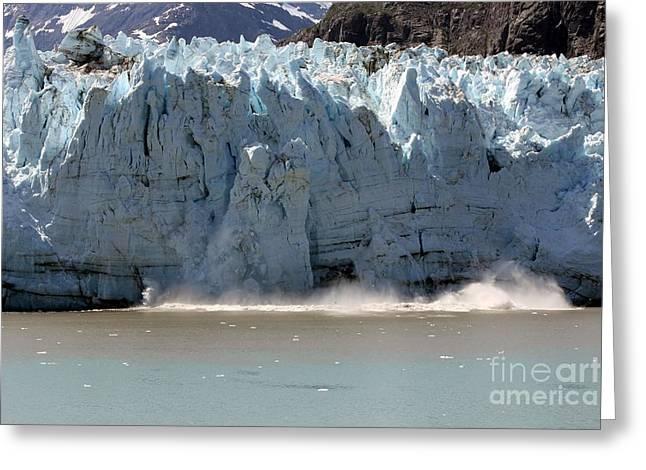 Glacier Bay Alaska Greeting Card by Sophie Vigneault