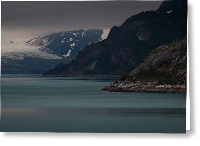Glacier Bay Greeting Card by Dayne Reast