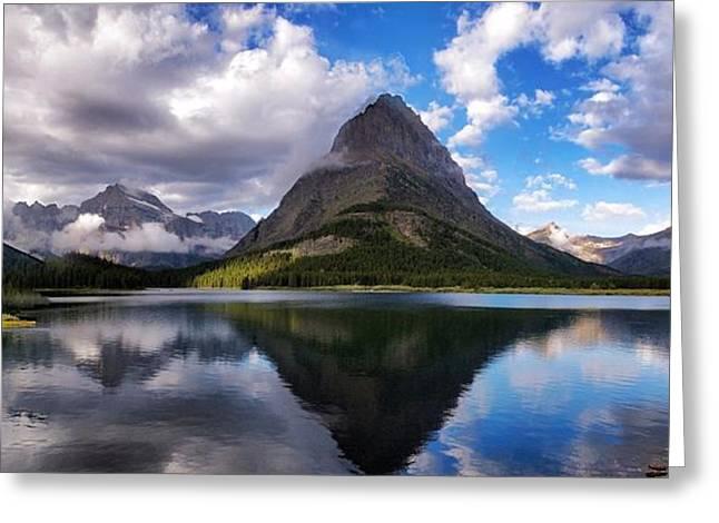 Glacier Grandeur Greeting Card by Rob Wilson