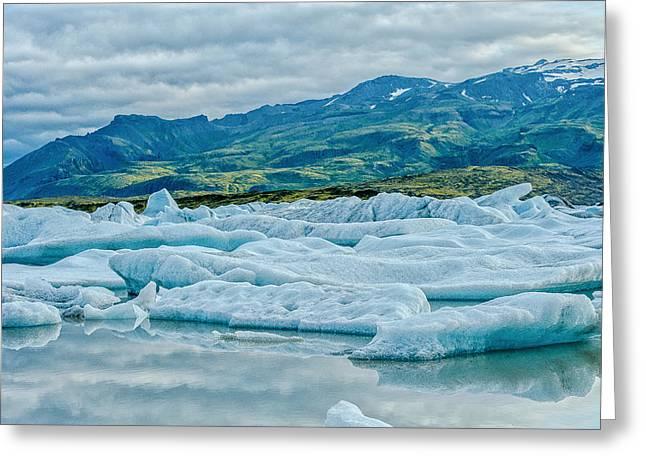 Glacier Lagoon  Greeting Card