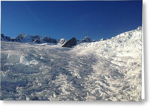 Glacier Greeting Card by Ron Torborg