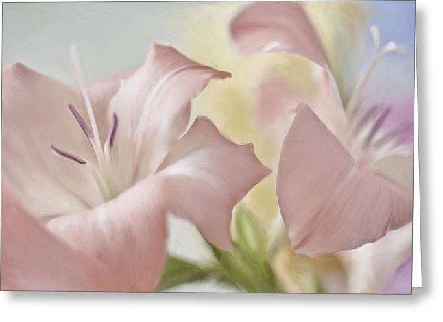 Gladiolas I Greeting Card