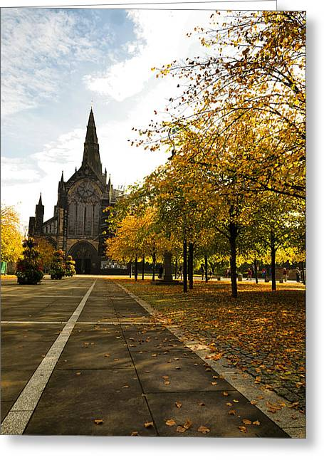 Glasgow Cathedral Greeting Card