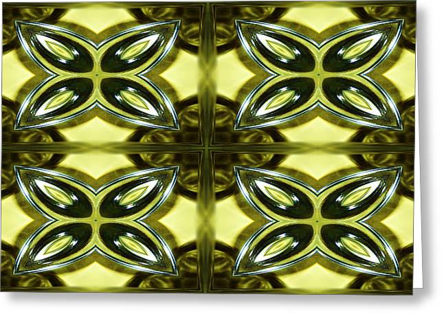 Glass Art 01 Greeting Card by Ester  Rogers
